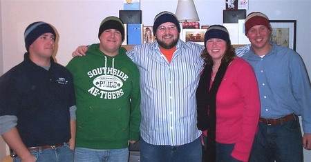 Family in Hats